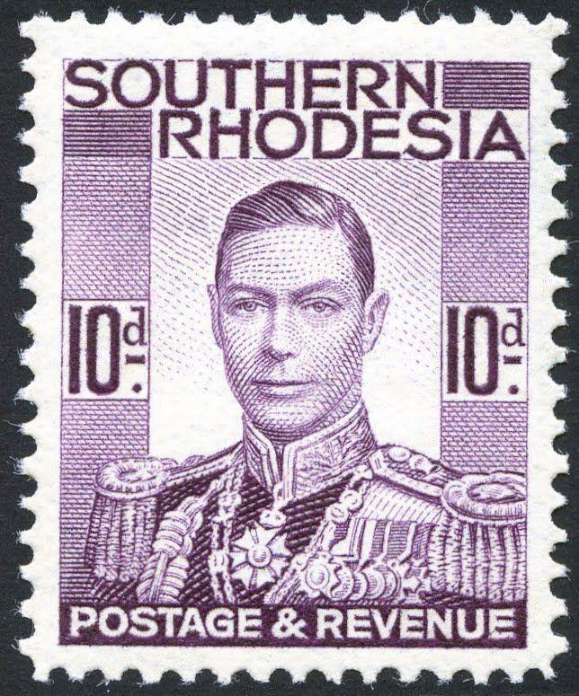 King George VI Southern Rhodesia 1937