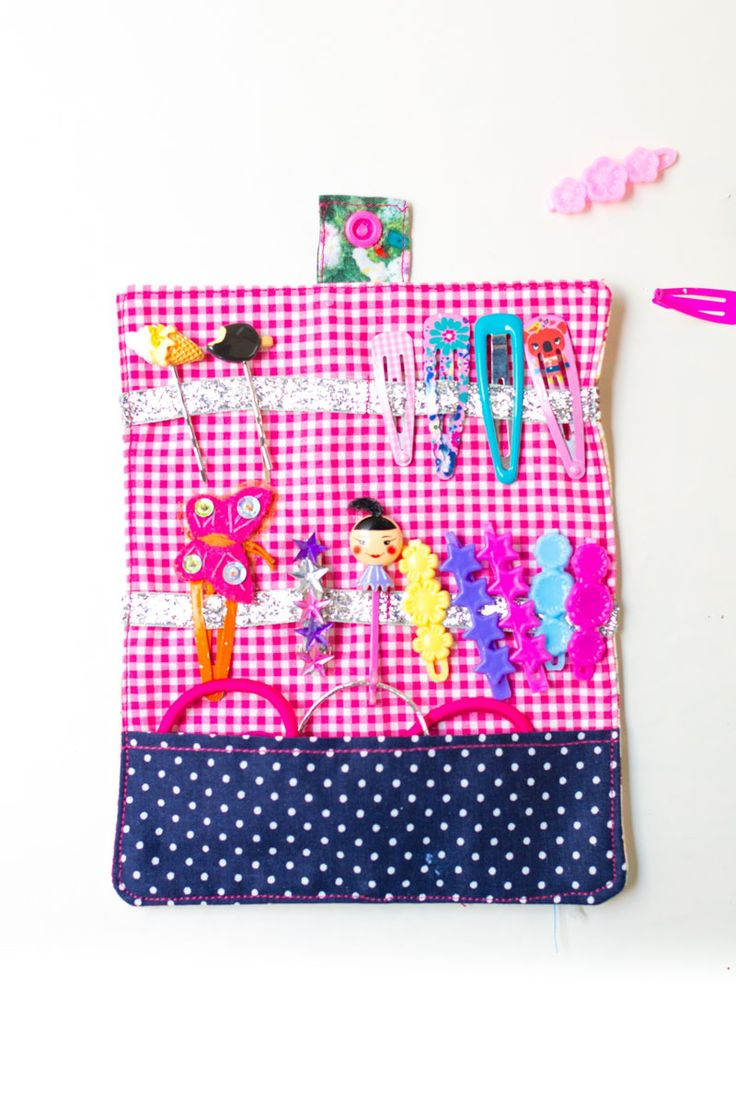 Hair-clips wallet