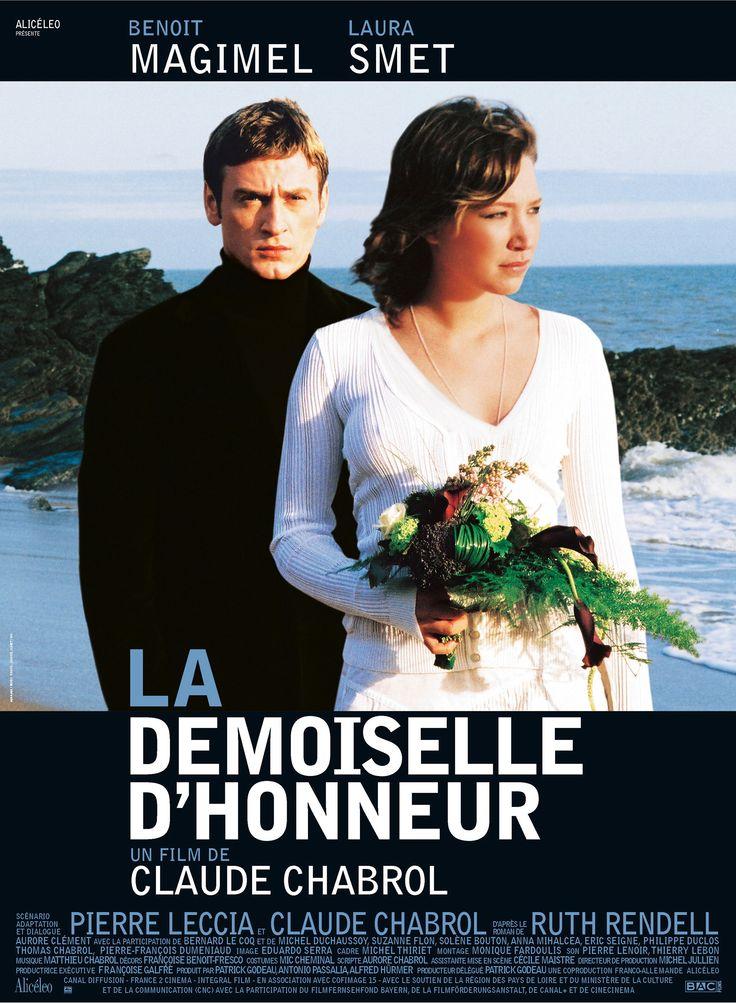 La Demoiselle D Honneur De Claude Chabrol Claude Chabrol Bridesmaids Movie Poster Bridesmaids Movie