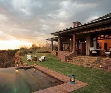 Singita Grumeti Reserves (Sasakwa Lodge, Faru Faru Lodge, Sabora Tented Camp) (93.75)  Serengeti National Park, Tanzania    Two opulent lodges and a stylish 1920's-inspired tented camp on a 347,000-acre preserve.    Stats: 28 suites; 3 restaurants; 3 bars.    Rooms to book: The tented camp is wonderfully atmospheric.    Insider tip: Be among the first to try the overnight horseback safari.