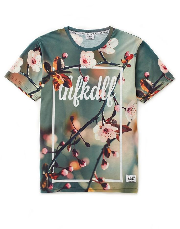 THFKDLYF Floral Sublimation T-Shirt