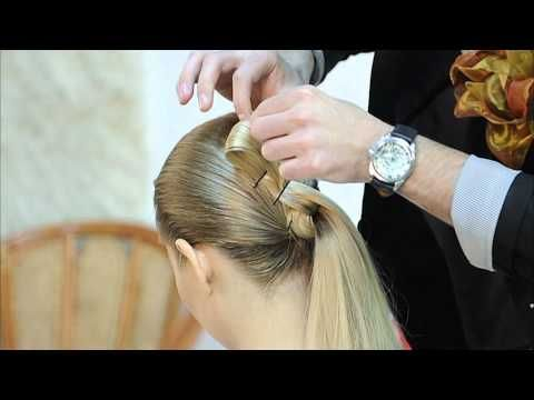Прическа в греческом стиле, прически из длинных волос.