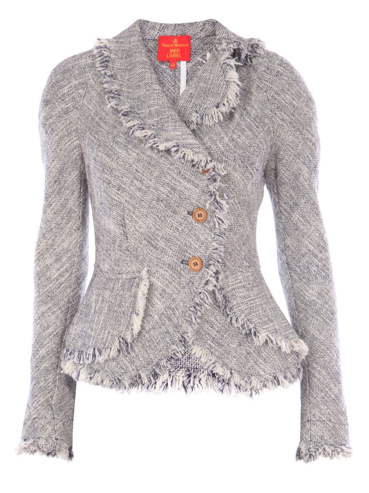 Vivienne Westwood jacket - but in a more vivid colour ; this is definitely the dullest grey you could find Vivienne ???