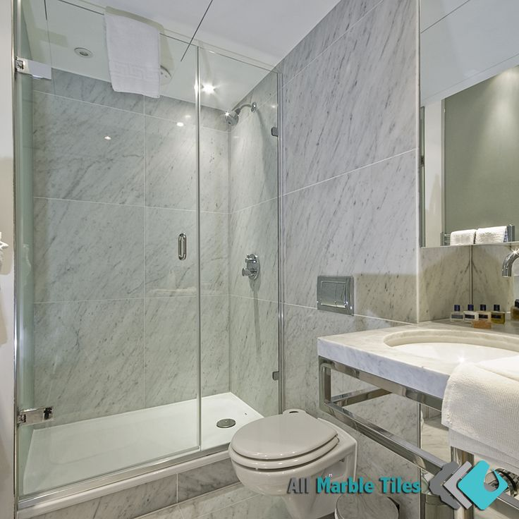 bathroom design with bianco carrara italian marble tiles from httpallmarbletiles. beautiful ideas. Home Design Ideas