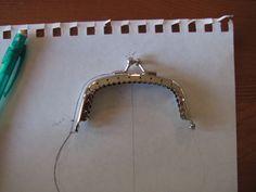 Cómo hacer el patrón de un monedero para cada boquilla