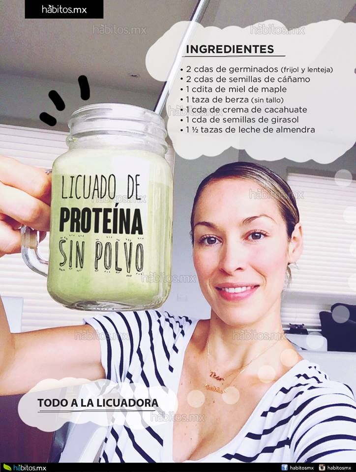 Hábitos Health Coaching | Súper licuado de proteína sin polvos especiales…