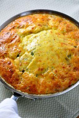 Potato Basil Frittata - Fast, easy & delicious breakfast dish (vegetarian) Barefoot Contessa Ina Garten