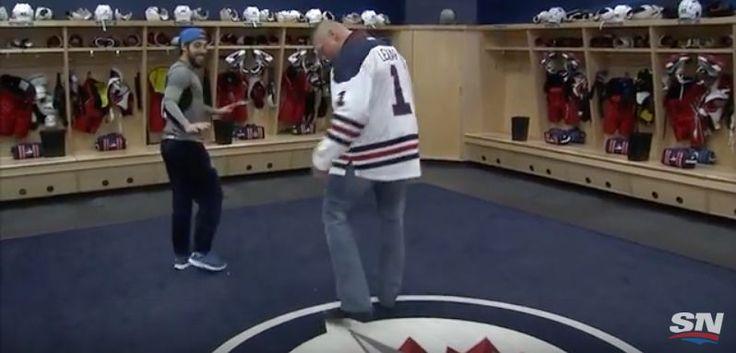 "Brock Lesnar breaks dumbest ""rule"" in Jets locker room (Video) - http://howto.hifow.com/brock-lesnar-breaks-dumbest-rule-in-jets-locker-room-video/"