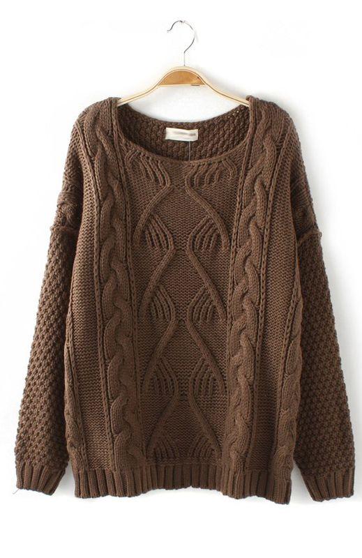 Vintage Twist Wave K.N.I.T Sweater