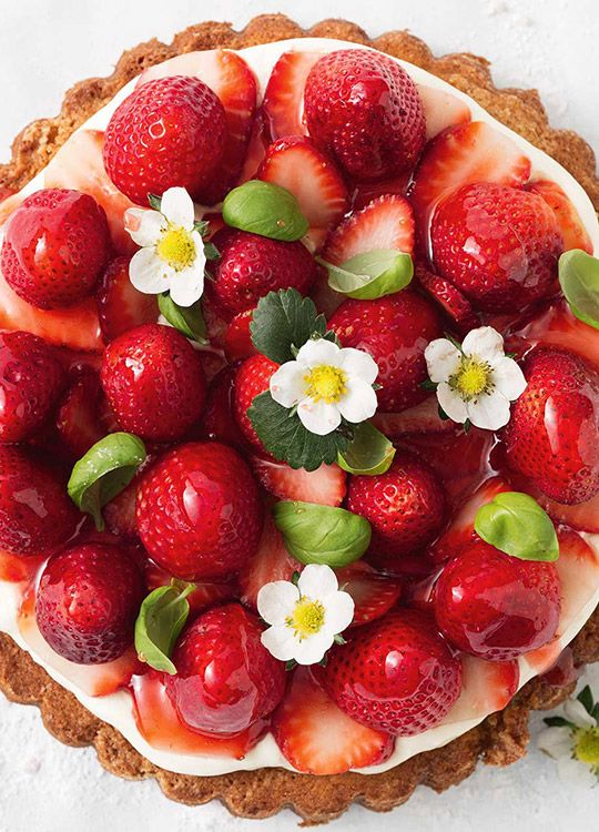 How to make Strawberry Buttermilk Cake