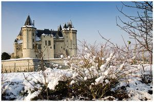 Saumur in winter! #winter #snow #xmas #loire #travel #holiday #france