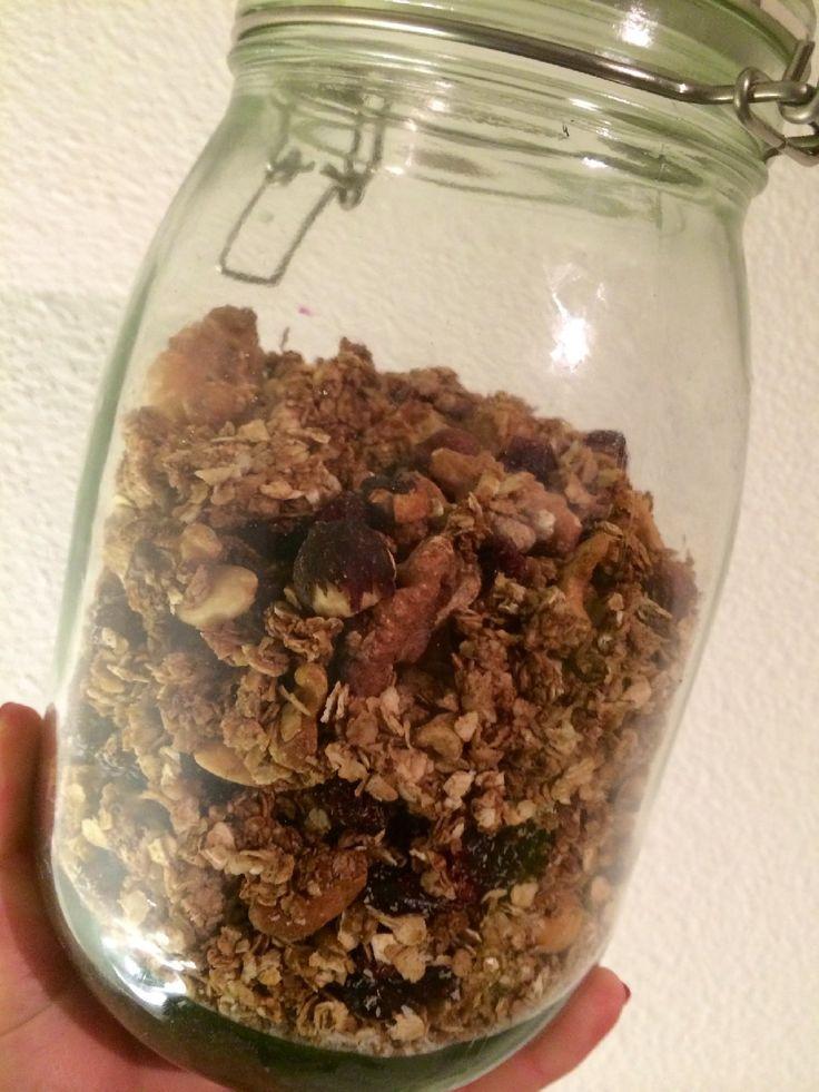 Deze speculaas granola is perfect voor dit Sinterklaas weekend!