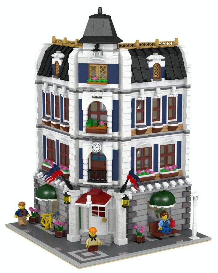 LEGO Modular Coffee Shop & Library INSTRUCTIONS ONLY!!! 10182 10185 10232 10243 #LEGO