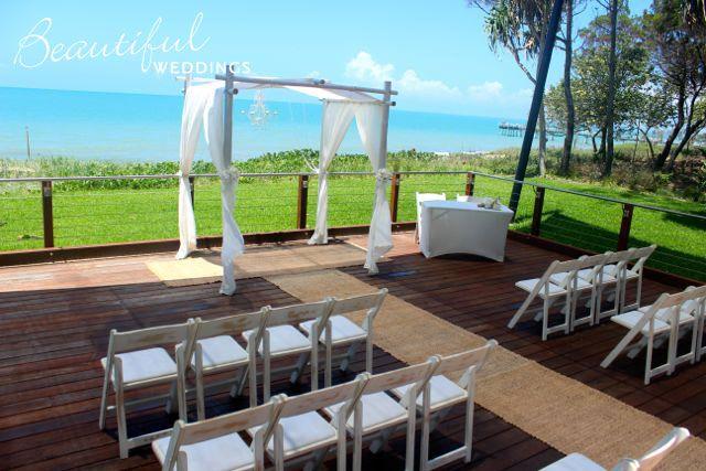 Hervey Bay wedding - bill fraser park