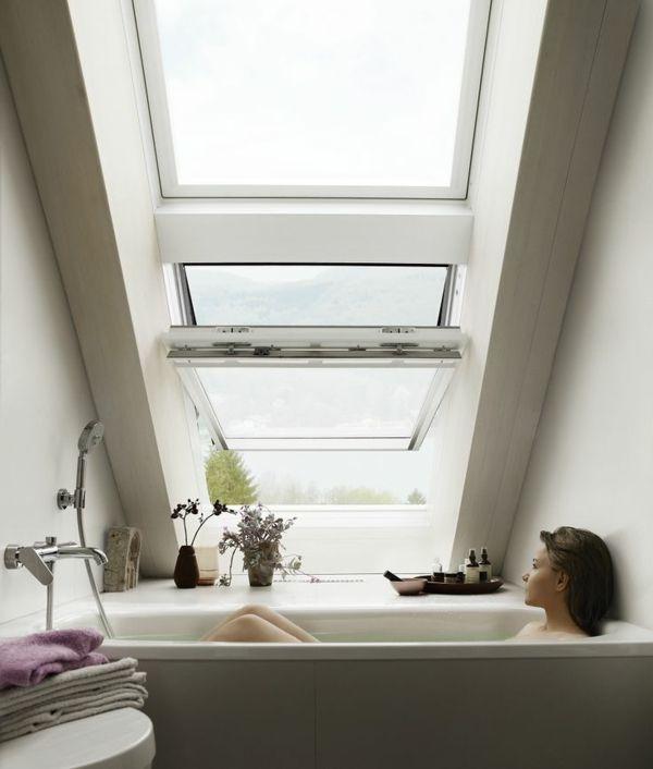 Ein Badezimmer unter Abhang oder Dachboden in 52 Fotos!   – Adrien Vial