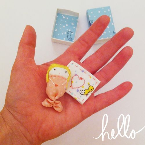 Mermaid Matchbox Dollies I am a total sucker for matchbox crafts. I think I have some very happy memories of making cute little things with matchboxes and once at school we were challenged to see how many DIFFERENT small items…