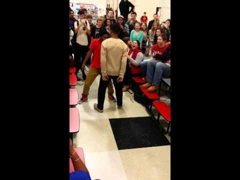 Milton High School Epic Dance Battle - YouTube