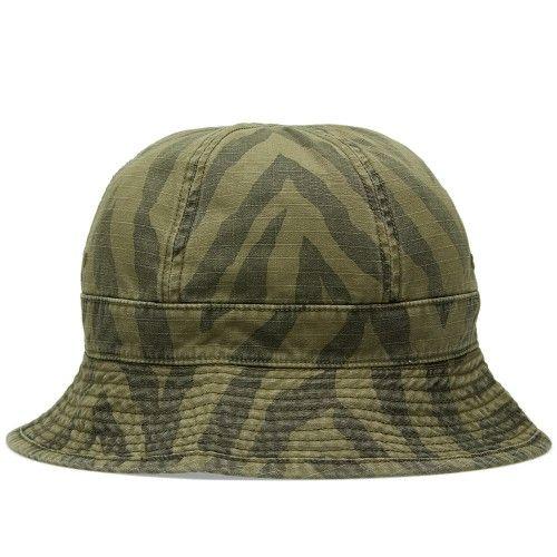 Neighborhood Ball Hat (Olive Drab Zebra Camo)