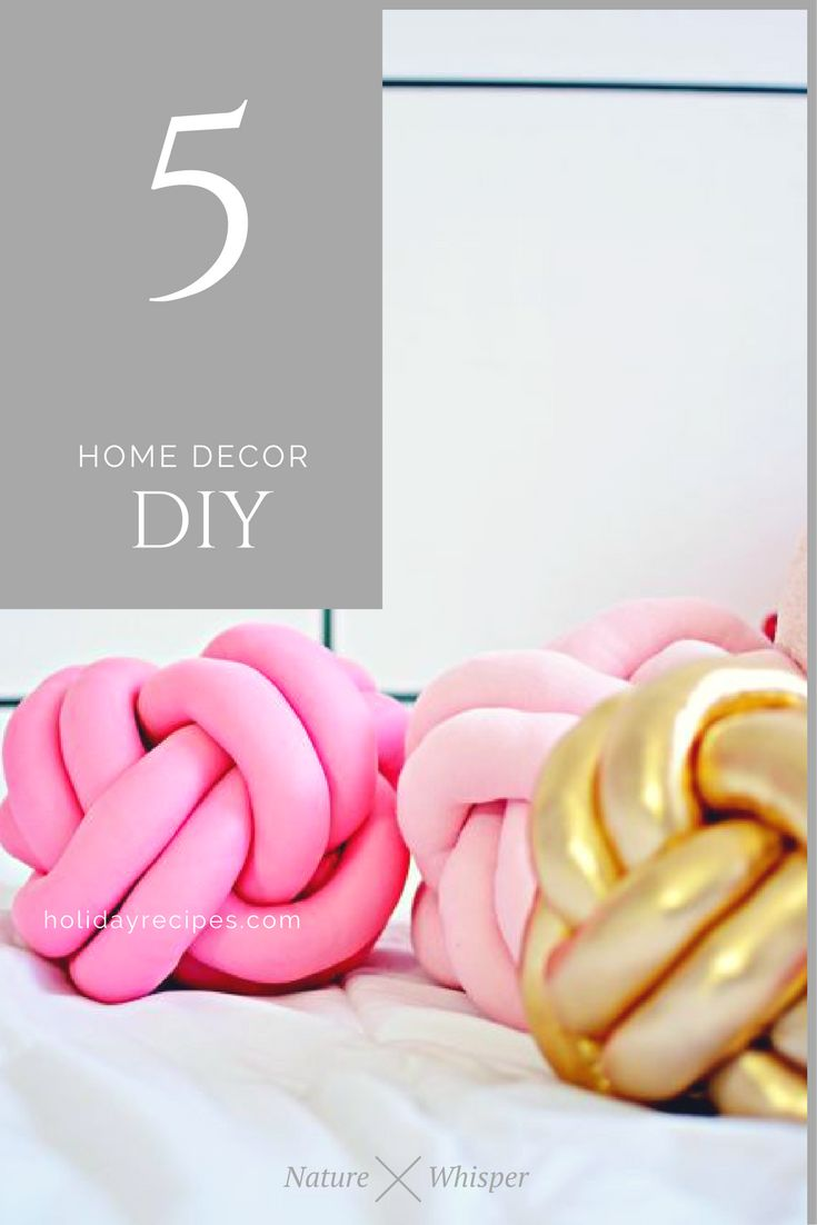 DIY: 3 Modern Home Decor Ideas