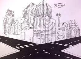 perspectief stad tekenen - Google zoeken