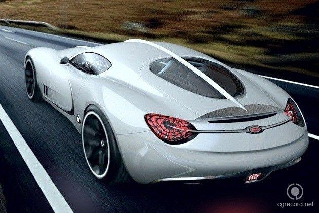 Inspirations Area: Bugatti Gangloff Concept