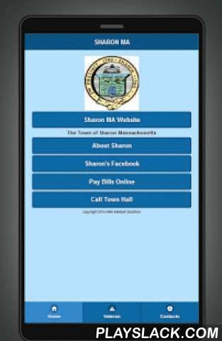 Sharon Massachusetts  Android App - playslack.com , This is the Web Medium Solutions Sharon Massachusetts mobile application.It is designed as a service directory for Sharon, with a focus on Veterans, military, their families, and all the great people of Sharon MA.