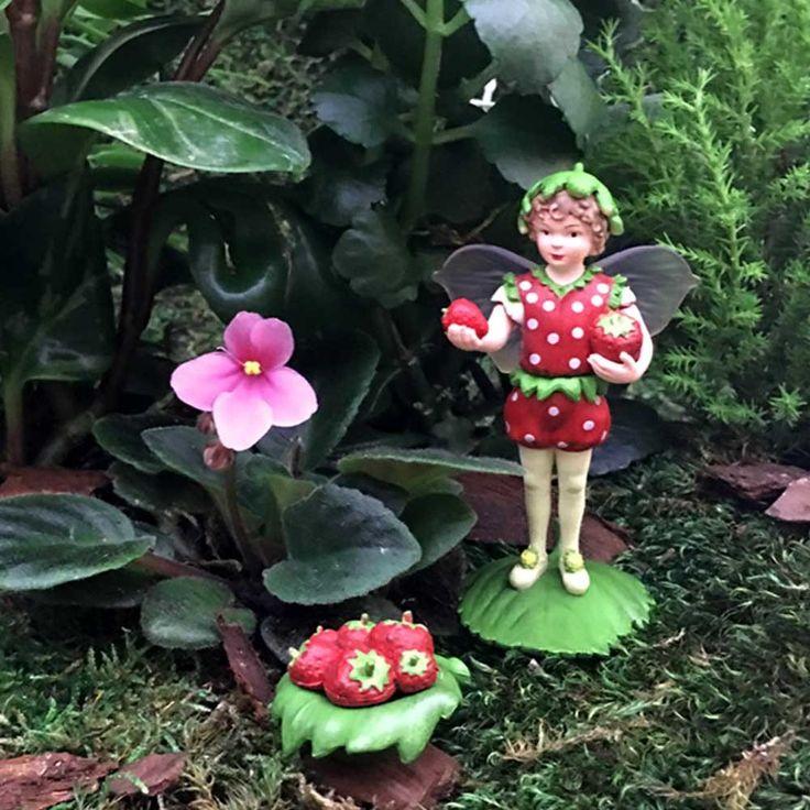Flower Fairies Fairy Figure - Strawberry Fairy-Toy Universe