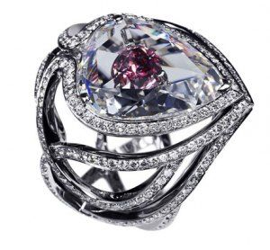 Most Expensive Engagement Ring - Secret Kiss of the Rose Ring