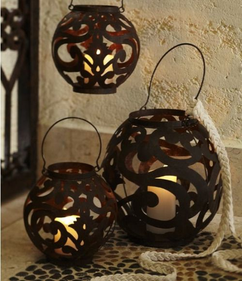 Different to the normal shape lanterns