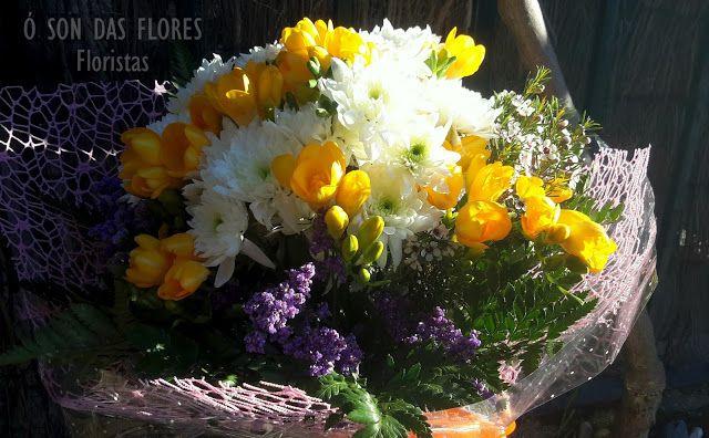 Ó son das flores: Fantásticos ramos de flores y arreglos florales co...