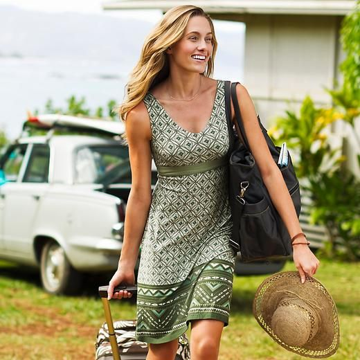 Santorini Dress | Athleta - Perfect casual, summer dress! Ideal for a trip to Mr. B's?