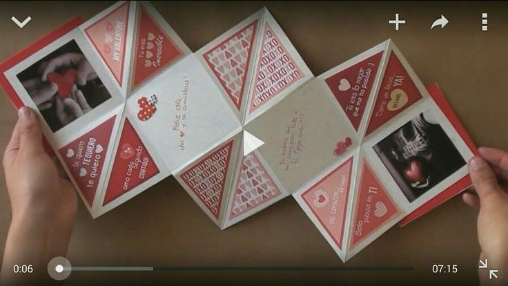Carta Squash #TutoCG // Manualidades San Valentin-14 febrero https://youtu.be/0Ij-btVkIQI