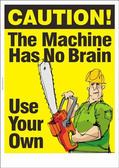 For the self inflicked; Use Your Brain