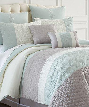 Look at this #zulilyfind! Gray Palisades Comforter Set #zulilyfinds