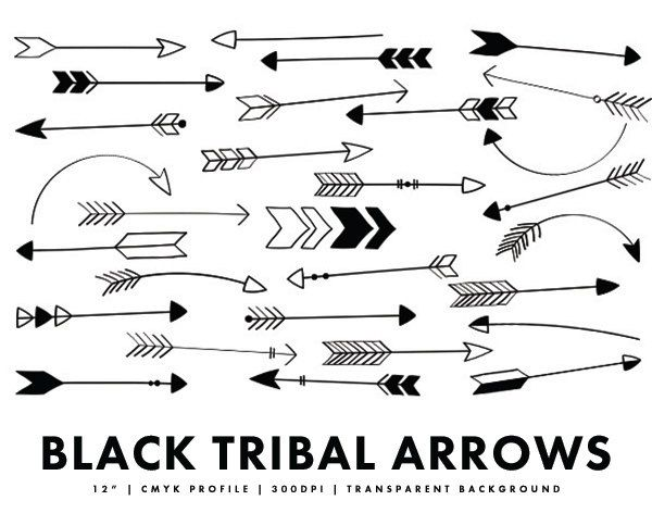 Polaroid Camera Clipart Black And White Black arrows arrow
