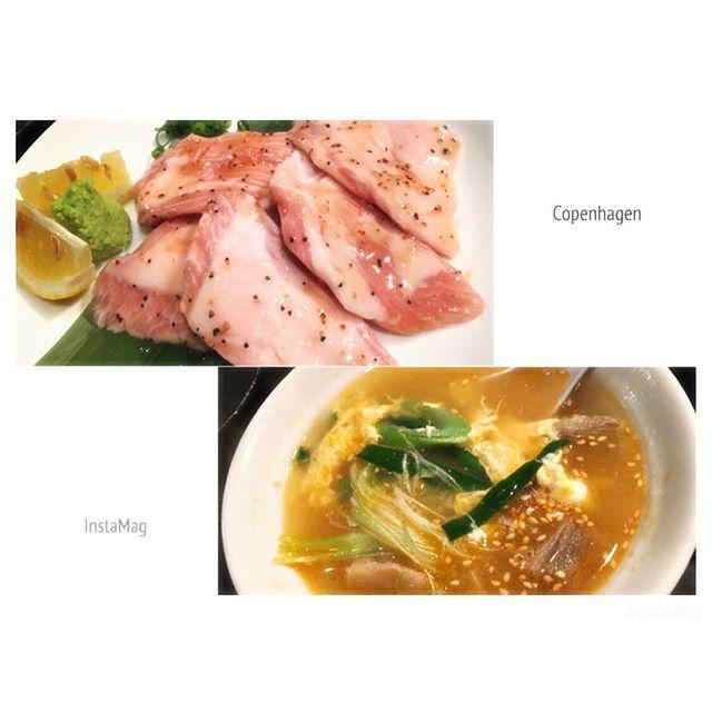 満足満足〜😋❤ 𓇼 𓇼 #炭火焼肉&Bar #龍&rRyu #焼肉 #肉 #肉肉肉 #豚トロ #カルビスープ #クッパはまた今度 #牛タンも食べたいな #1階でダーツして #塩ちんすこうアイス食べた #今度は沖縄ソバ食べる