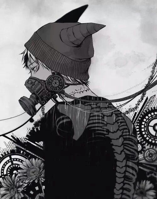 Anime gas mask