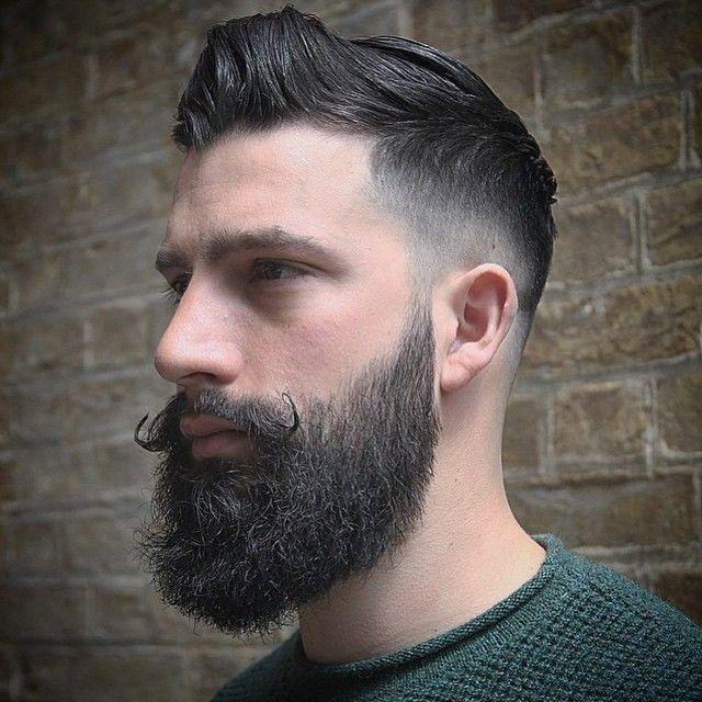 Estilo Arrojado Para Homens Barba Grande Tem Que Ser Bem