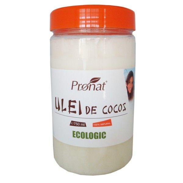 ULEI DE COCOS ECOLOGIC, 750 ML