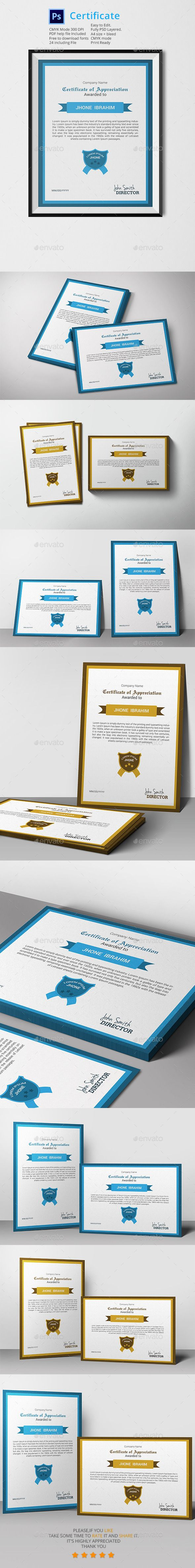 346 best certificate templates images on pinterest certificate certificate template by graphicalark certificate template is very easy to use and change textcolorsizelook and everything because i made it on photoshop yadclub Image collections