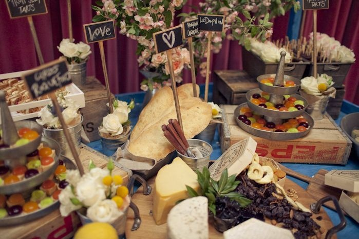 Grazing table, catering by Bay Leaf Catering
