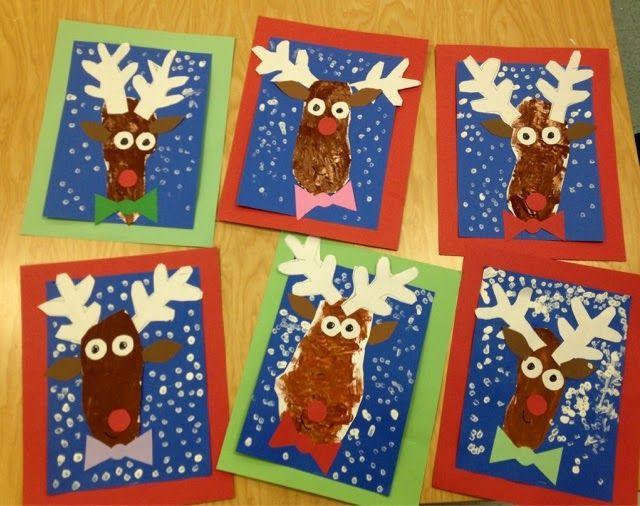 Art with Mr. Giannetto: Kindergarten Reindeer