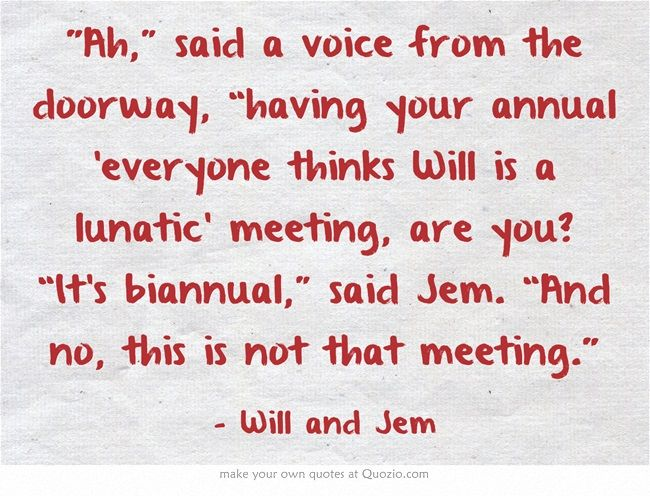 The infernal devices   quotes   Will and Jem
