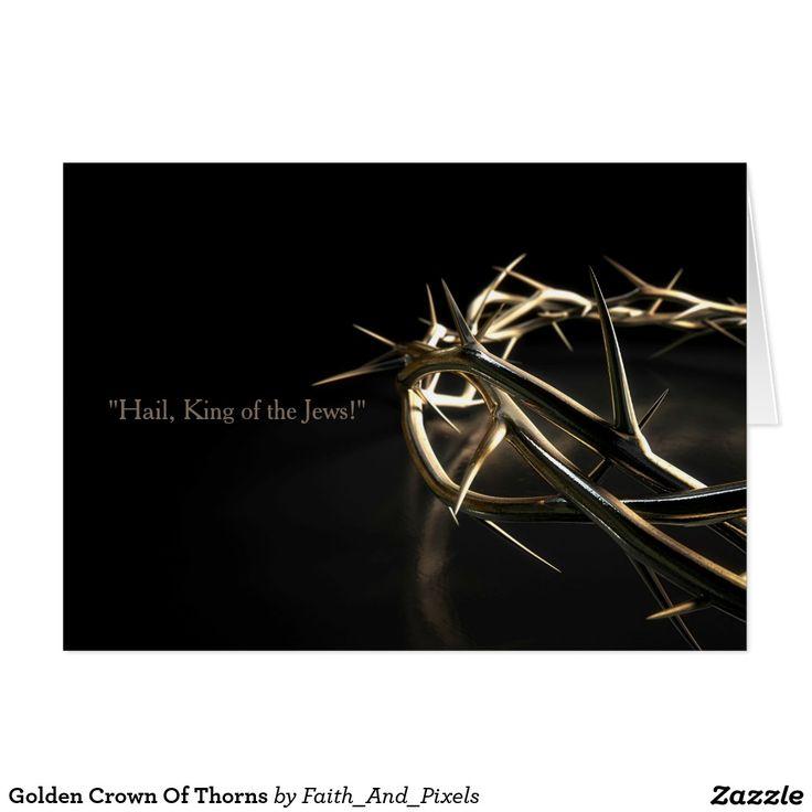 Golden Crown Of Thorns