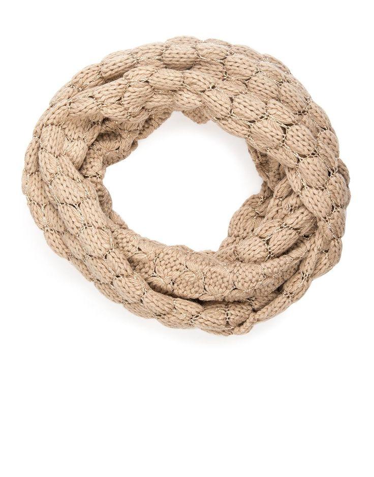 Metallic Knit Snood