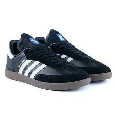#Adidas skateboarding samba adv black white gum skate #shoes new free #delivery,  View more on the LINK: http://www.zeppy.io/product/gb/2/401260482605/