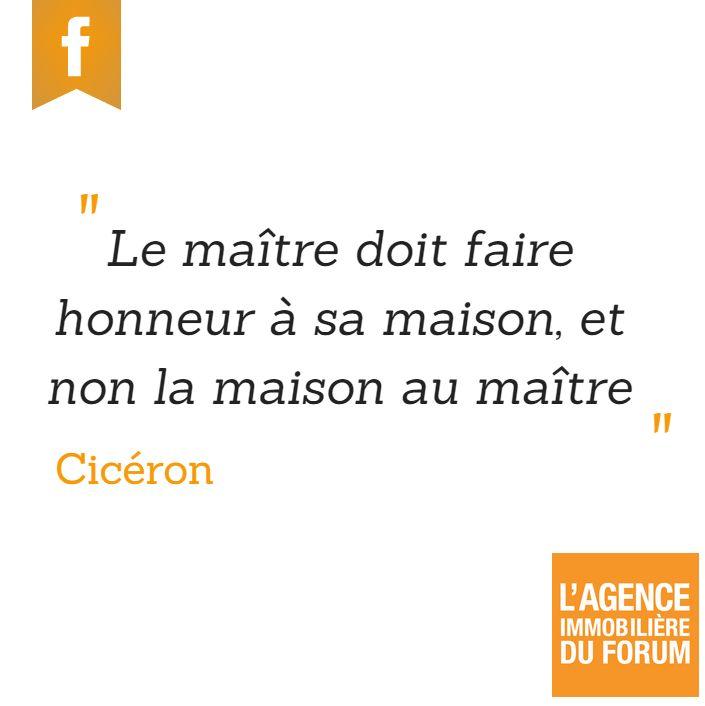 Agence du Forum - Citation #maison #foyer #reims #immobilier