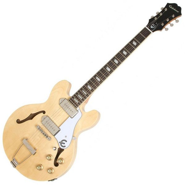Epiphone Casino Coupe Electric Guitar, Natural at Gear4Music.com