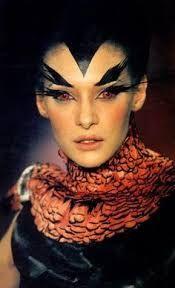 Image result for alexander mcqueen runway makeup