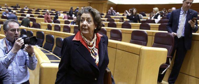 El PP no quiere correr con la reclamación del escaño de Rita Barberá